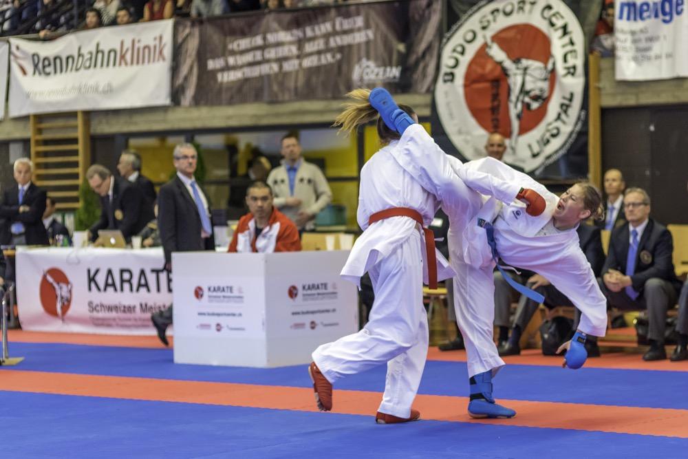Ramona Brüderlin - Schweizermeisterin Kumite -61kg in Elite aus Pratteln
